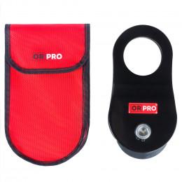 Такелажный блок ORPRO 10 000 кг с красным чехлом