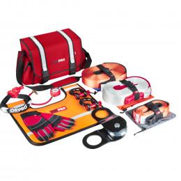Такелажный набор ORPRO Premium 12000 кг (Красная сумка, Oxford 16800)