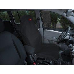Чехол грязезащитный на переднее сиденье (Черный)