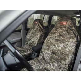 Комплект грязезащитных чехлов ORPRO на передние сиденья (Пиксель)