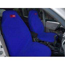 Комплект грязезащитных чехлов на передние и заднее сиденья (Синий)