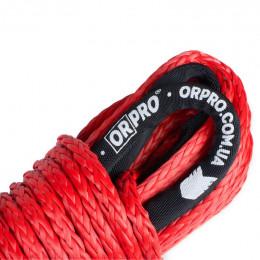 Синтетический трос ORPRO 30м 10мм (красный, без крюка)