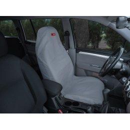 Чехол грязезащитный на переднее сиденье (Серый)