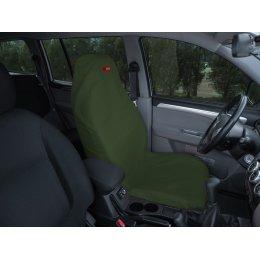 Чехол грязезащитный на переднее сиденье (Зеленый)