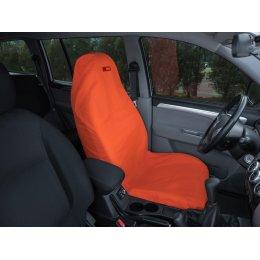 Чехол грязезащитный на переднее сиденье (Оранжевый)