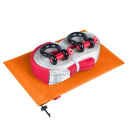 Динамическая стропа ORPRO 12000 кг с аксессуарами (оранжевый мешок)