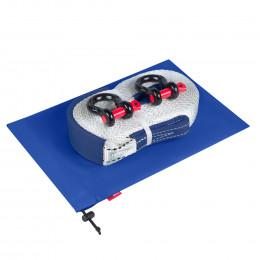 Динамическая стропа ORPRO 6000 кг с аксессуарами (синий мешок)