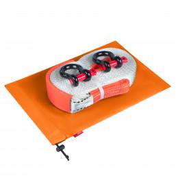 Динамическая стропа ORPRO 9000 кг с аксессуарами (оранжевый мешок)