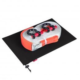 Динамическая стропа ORPRO 9000 кг с аксессуарами (черный мешок)