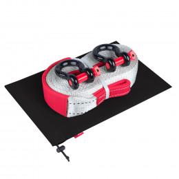 Динамическая стропа ORPRO 12000 кг с аксессуарами (черный мешок)