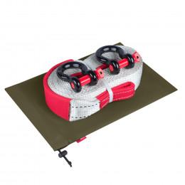Динамическая стропа ORPRO 12000 кг с аксессуарами (зеленый мешок)