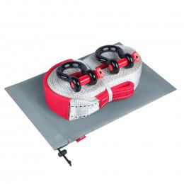 Динамическая стропа ORPRO 12000 кг с аксессуарами (серый мешок)