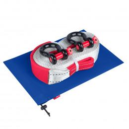 Динамическая стропа ORPRO 12000 кг с аксессуарами (синий мешок)
