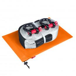 Динамическая стропа ORPRO 16000 кг с аксессуарами (оранжевый мешок)
