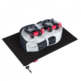 Динамическая стропа ORPRO 16000 кг с аксессуарами (черный мешок)