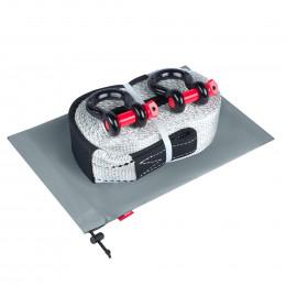 Динамическая стропа ORPRO 16000 кг с аксессуарами (серый мешок)