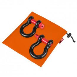 """Комплект шаклов ORPRO 3/4"""" с оранжевым мешком для хранения"""