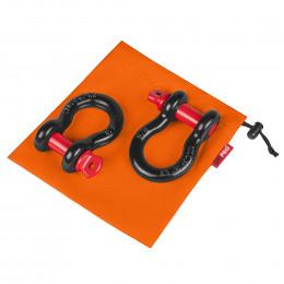 """Комплект шаклов ORPRO 5/8"""" с оранжевым мешком для хранения"""