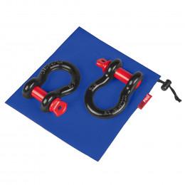 """Комплект шаклов ORPRO 5/8"""" с синим мешком для хранения"""