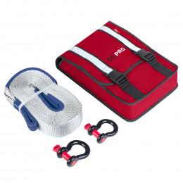 Компактный такелажный набор ORPRO 6000 кг (Красная сумка)