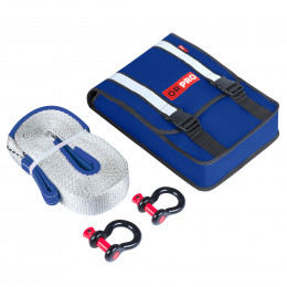 Компактный такелажный набор ORPRO 6000 кг (Синяя сумка)