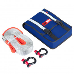 Компактный такелажный набор ORPRO 9000 кг (Синяя сумка)