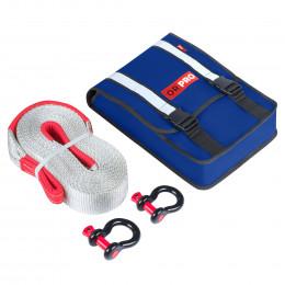 Компактный такелажный набор ORPRO 12000 кг (Синяя сумка)