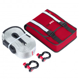 Компактный такелажный набор ORPRO 16000 кг (Красная сумка)