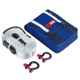 Компактный такелажный набор ORPRO 16000 кг (Синяя сумка)