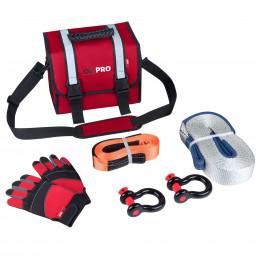 Малый такелажный набор ORPRO 6000 кг (Красная сумка)