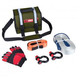 Малый такелажный набор ORPRO 6000 кг (Зеленая сумка)