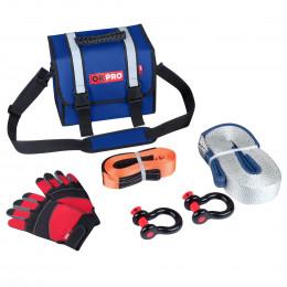 Малый такелажный набор ORPRO 6000 кг (Синяя сумка)