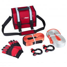 Малый такелажный набор ORPRO 9000 кг (Красная сумка)