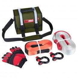 Малый такелажный набор ORPRO 12000 кг (Зеленая сумка)