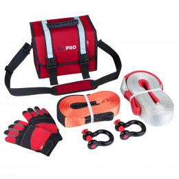 Малый такелажный набор ORPRO 12000 кг (Красная сумка)