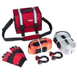 Малый такелажный набор ORPRO 16000 кг (Красная сумка)