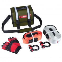 Малый такелажный набор ORPRO 16000 кг (Зеленая сумка)
