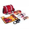 Большой такелажный набор ORPRO 12000 кг (Красная сумка, Oxford 600)