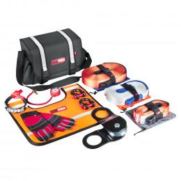 Такелажный набор ORPRO Premium 6000 кг (Серая сумка, Oxford 600)