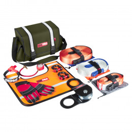 Такелажный набор ORPRO Premium 6000 кг (Зеленая сумка, Oxford 600)