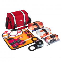 Такелажный набор ORPRO Premium 9000 кг (Красная сумка, Oxford 600)