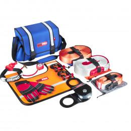 Такелажный набор ORPRO Premium 12000 кг (Синяя сумка, Oxford 600)