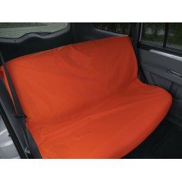 Чехол грязезащитный на заднее сиденье (Оранжевый)