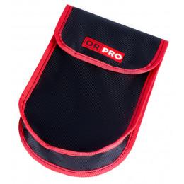Чехол ORPRO для такелажного блока 10 000 кг (Черный с красным кантом)
