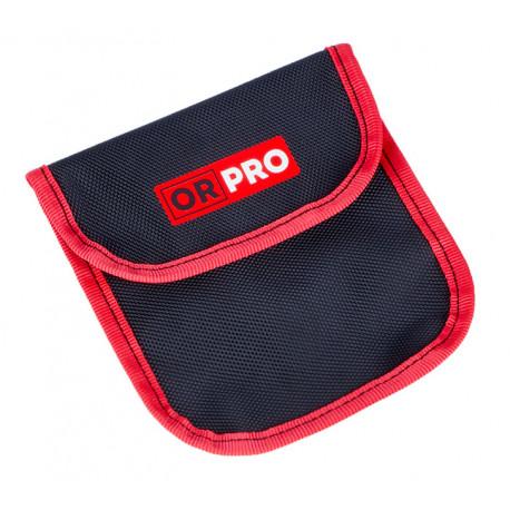 Чехол ORPRO для дефлятора с аналоговым манометром (Черный с красным кантом)