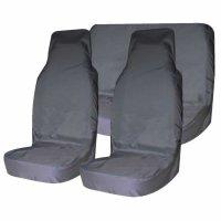 Комплект чехлов на передние и заднее сиденья